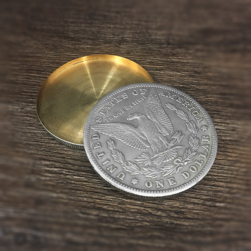 Morgan Dollar and Expanded Shell (Tail) Set