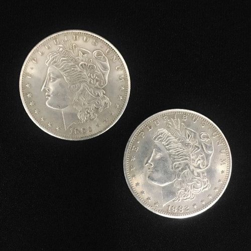 Double Sided Morgan Dollar (Heads)