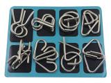 Cast Metal Puzzle Set (Pack of 16)