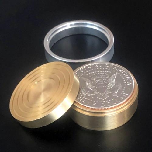 Duvivier Coin Box (Half Dollar) by Dominique Duvivier