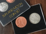 Sun and Moon Coin Set by Oliver Magic