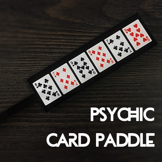 Psychic Card Paddle