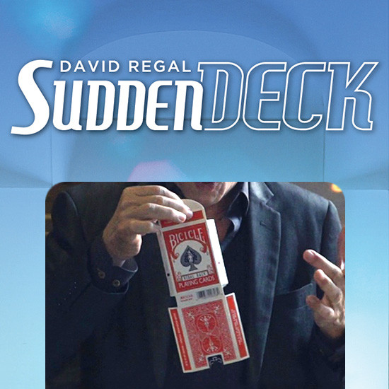 * Sudden Deck 3.0 (Gimmick and Online Instructions) by David Regal