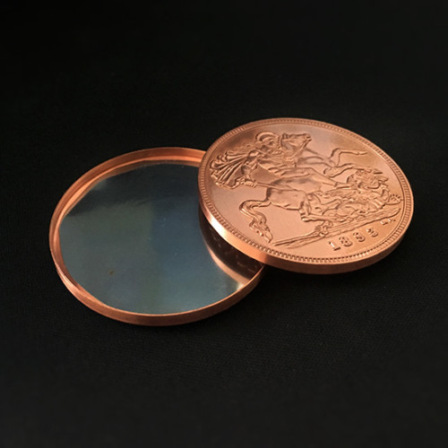 Shimmed Expanded Shell (Queen Victoria Ancient Coin, Tail, Copper)