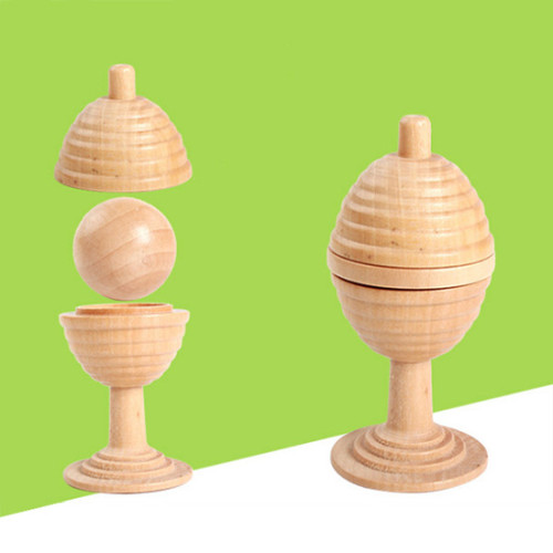 Ball and Vase (Wooden)