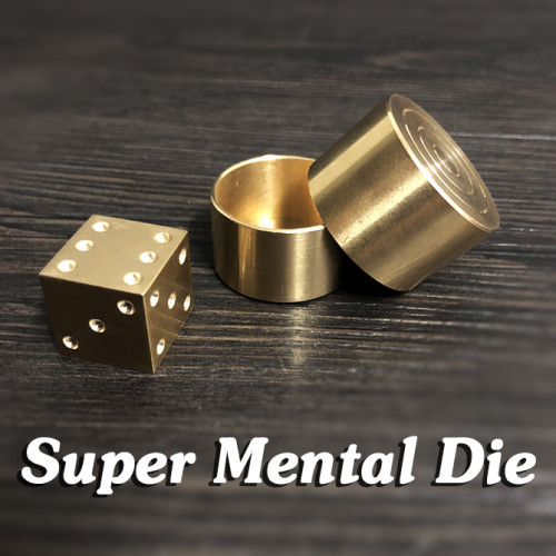 Super Mental Die (Brass)