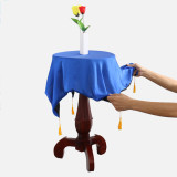 Round Carved Floating Table (Anti Gravity Box + Vase + Candlestick)