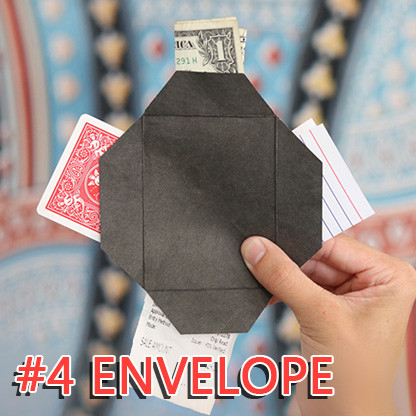 Number 4 Envelope (Gimmicks and Online Instructions) by Blake Vogt