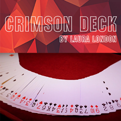 * Crimson Deck (Gimmicks and Online Instructions) by Laura London and The Other Brothers