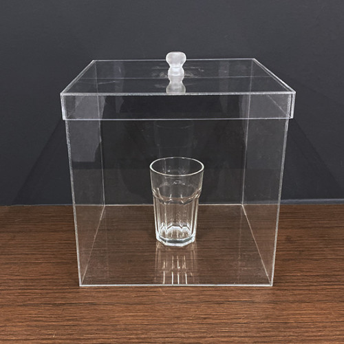 Organic Glass Box for Self Explosion Glass
