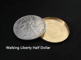 Expanded Shell Walking Liberty Half Dollar (Brass)