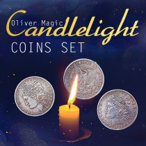 Candlelight Coins Set by Oliver Magic