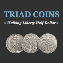 Triad Coins (Walking Liberty Half Dollar Gimmick)