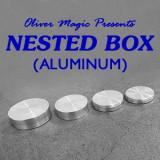 Nested Box (Aluminum) by Oliver Magic