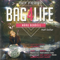 Bag4Life (1 US Half Dollar Coin and DVD) by Mark Bendell and Issy Simpson