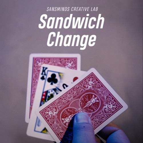 Sandwich Change (Gimmicks and DVD) by SansMinds Creative Labs
