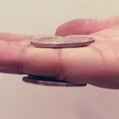 Magnetic Morgan Dollar (Super Strong, 3.8cm, Brass)