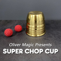 Super Chop Cup (Brass) by Oliver Magic