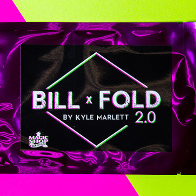 * BILLFOLD 2.0 (Pre-made Gimmicks and Online Instructions) by Kyle Marlett