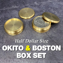 Okito & Boston Box Set (Half Dollar Size)