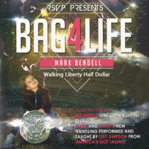 Bag4Life (1 Walking Liberty Half Dollar and DVD) by Mark Bendell and Issy Simpson
