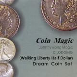 Dream Coin Set by Johnny Wong (Walking Liberty Half Dollar)