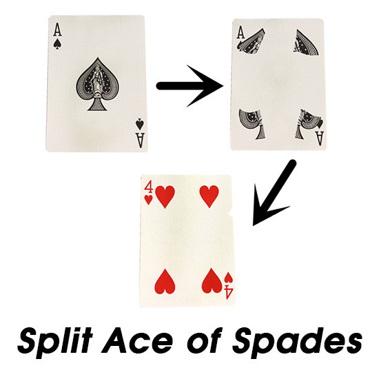 Split Ace of Spades