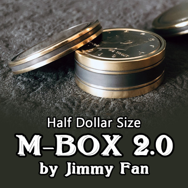 M-BOX 2.0 by Jimmy Fan (Half Dollar Size)