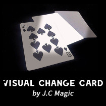 Visual Change Card by J.C Magic
