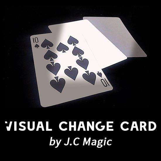 Visual Change Card by J.C Magic