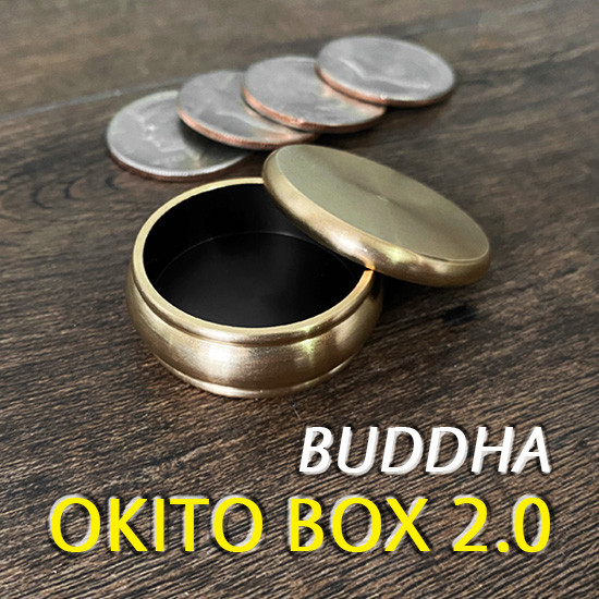 Buddha Okito Box 2.0 + Half Dollar Shell