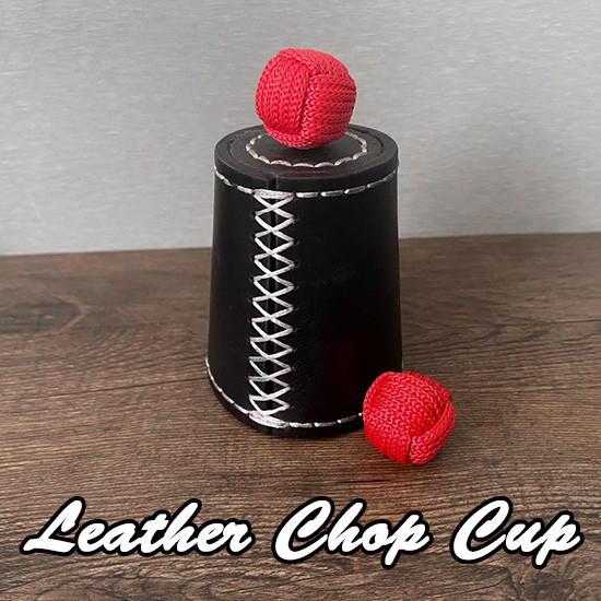 Leather Chop Cup