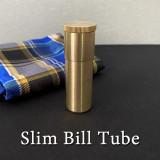 Slim Bill Tube (Brass)