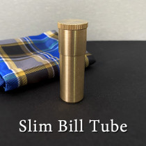 Slim Bill Tube (Brass)