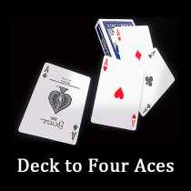 Deck to Four Aces by J.C Magic