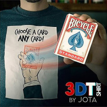 * 3DT-Shirt (Gimmick and Online Instructions) by JOTA
