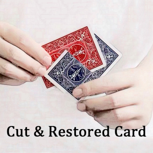 Cut & Restored Card