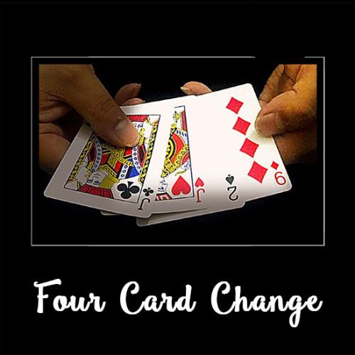Four Card Change by J.C Magic