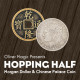 Hopping Half (Morgan Dollar and Chinese Palace Coin) by Oliver Magic