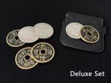 Hopping Half (Morgan Dollar and Chinese Palace Coin) by Oliver Magic