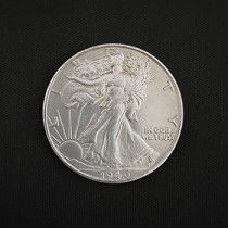 Walking Liberty Half Dollar (Brass)