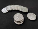 Walking Liberty Half Dollar (Brass)