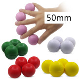 Multiplying Billiard Balls (Soft Rubber) - 50mm (5 Colors)
