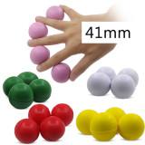 Multiplying Billiard Balls (Soft Rubber) - 41mm (5 Colors)