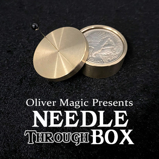 Needle Through Box by Oliver Magic