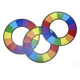 Plastic Rainbow Rings (Large)