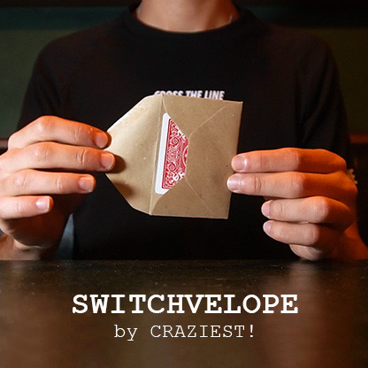 * SWITCHVELOPE (Gimmicks and Online Instructions) by The Craziest