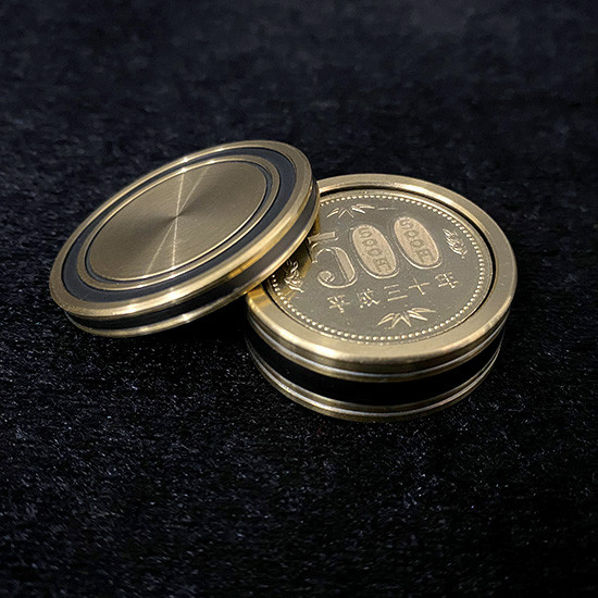 Okito Box - 500 Yen Size (Brass)