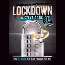 * LOCKDOWN (Gimmick and Online Instructions) by Steve Cook and Kaymar Magic