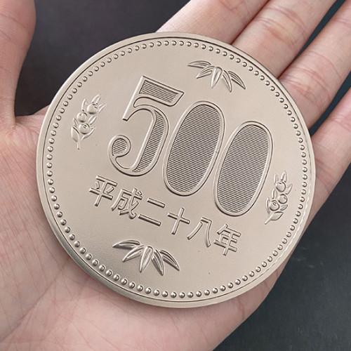 Jumbo 500 Yen Coin (7cm)